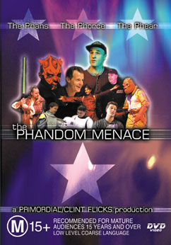 DVD cover - The PhanDom Menace